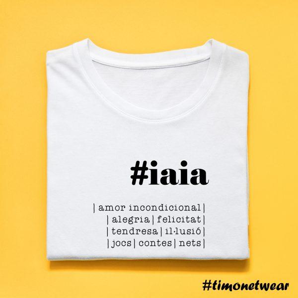 samarreta #iaia timonet wear